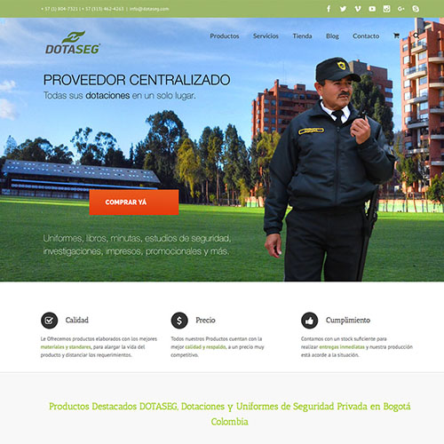 Dotaseg - Dotaseg sitio web