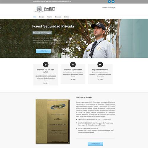 Dotaseg - seguridad Ivaest sitio web