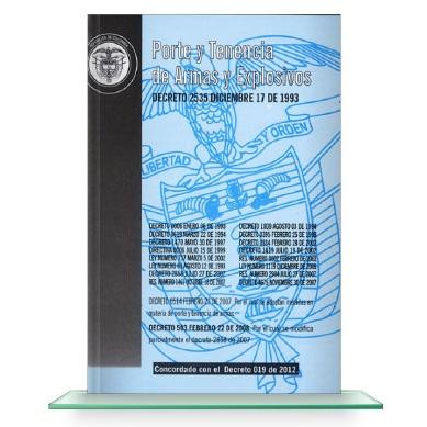 Porte-Y-Tenencia-De-Armas-Decreto-2535-Dic-17-De-1993,-Ley-1119-del-2006-libros-de-seguridad-y-vigilancia-privada-bogota