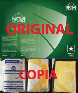 seguridad nativa de colombia viola derechos de autor